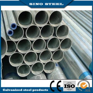 Q235 ERW Gi Galvanized Steel Pipe Used for Greenhouse pictures & photos