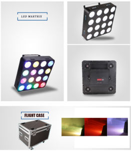 16X30W 3in1 Blinder RGB Tricolor DJ LED Effect Light pictures & photos