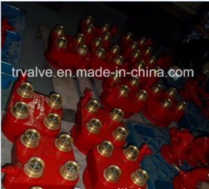 "4-Way 2.5"" Brass Breeching Fire Hydrant Valve"