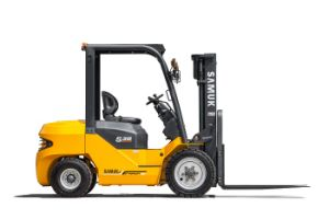 3.0ton Diesel Forklift Isuzu Engine 3m Duplex pictures & photos
