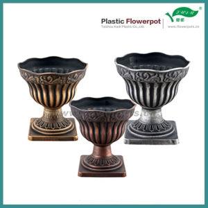Plastic Brozne Flower Pot (KD2941S-KD2945S) pictures & photos