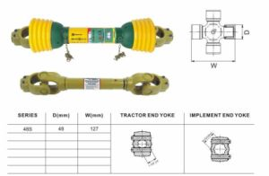 Pto Shaft for Agriculture Machinery Sp48 pictures & photos