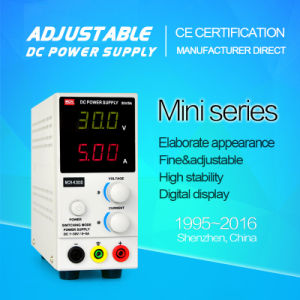 Mini Size DC Adjustable 3 Digitals 30V/5A 150W Switch Power Supply Mch-K305D