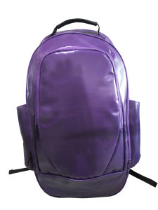 PVC Polyster Gloss Backpack, Super Quality Sport Backpack