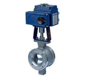 V Type Adjustable Regulating Ball Valve pictures & photos
