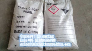 Caustic Soda Pearl Naoh Content 99% Min pictures & photos