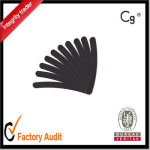 100/180 Black Curve Nail File Logo Print, Priate Label Avaiable pictures & photos