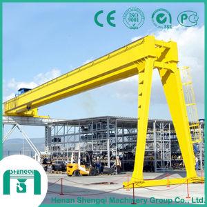 High Working Effiency Bmh Model Double Girder Semi-Gantry Crane pictures & photos