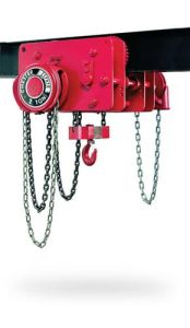3 Ton Low Headroom Trolley Hoists Made in China pictures & photos