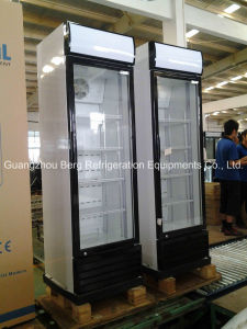 Glass Door Soft Drink Display Refrigerator pictures & photos