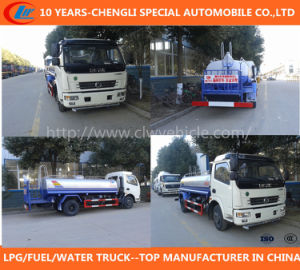 Dongfeng 12cbm 4X2 Water Tank Truck pictures & photos