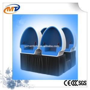 360 Degree Electric Platform 3 Seats 9d Vr Egg Cinema pictures & photos