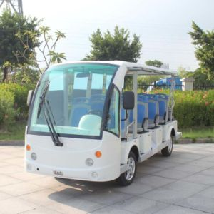 Wholesale Manufacturers White 14 Seaters Electric Sightseeing Car (DN-14) pictures & photos