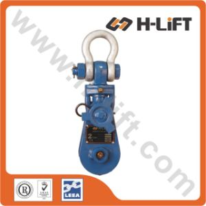 Heavy Duty Snatch Pulley Block (With Shackle) pictures & photos