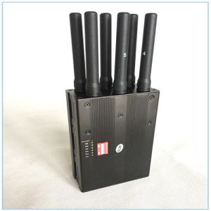 2016 New Portable Mobile Phone Jammer GPS Signal Blocker Handheld WiFi Jammer pictures & photos