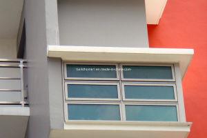 Top Range Aluminium Glass Window for Toilet pictures & photos