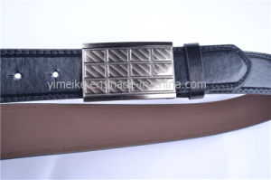 Hot-Sale Casual Snap Buckle PU Leather Belt for Man pictures & photos