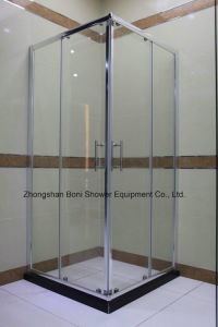 Bathroom 6mm Corner Entry Shower Enclosure pictures & photos