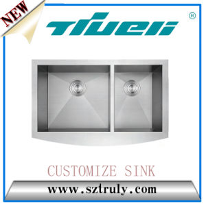 Custom Size Apron Sink 33inch Handmade Sink
