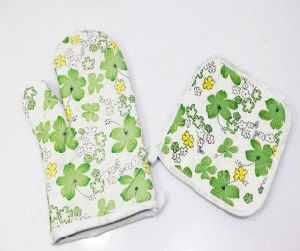 Promotion Custom Wholesale Kitchen Sets Oven Mitts pictures & photos