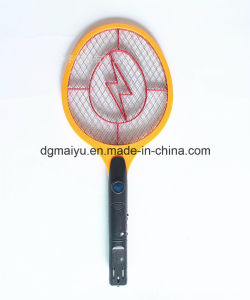Rechargeable LED Electric Mosquito / Fly / Insect Zapper Swatter Killer Racket 3-Layer Net Safe pictures & photos