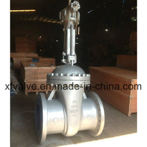 Industrial Usage Flange Gate Valve with Gear Operated