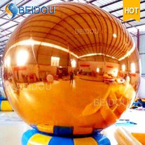 Decorative Mirror Balloon Gold Red Silver Disco Inflatable Mirror Balls