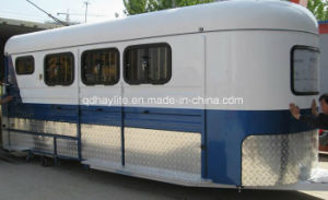 Angle Style Tripple Horse Float Trailer pictures & photos