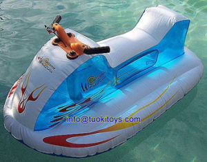High Quality Inflatable Slide with Carton Printing (A691)