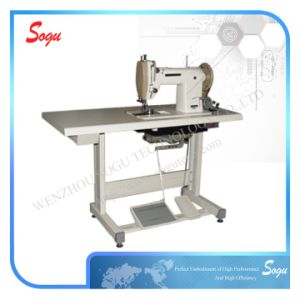Heavy Duty Lockstitch Shoe Upper Sewing Machine pictures & photos