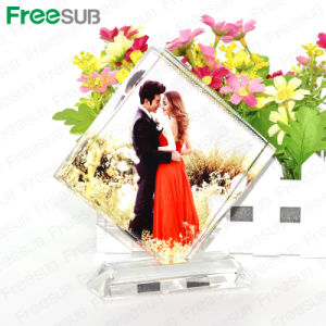 Freesub Gift Sublimation Blank Crystal Photo Block Crystal (BXP-30b) pictures & photos