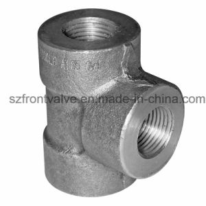 Forged Steel Screwed/Sw High Pressure Equal Tee pictures & photos