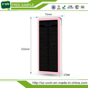 Waterproof Solar Charger 8000mAh Dual USB Portable Solar Power Bank pictures & photos