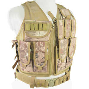 Anbison-Sports Deluxe Airsoft Tactical Combat Mesh Vest pictures & photos
