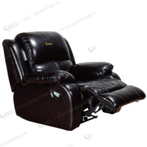 Home Leather Cinema Seating VIP Recliner Theater Sofa pictures & photos