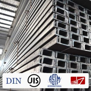 JIS U Channel Steel Rail pictures & photos