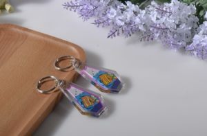 Promotional Acrylic Key Chain, Key Rings, Keyholder