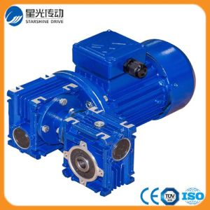 China Supplier High Torque Double-Stage Worm Gear Box pictures & photos
