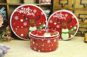 Christmas Chocolate Tin Box with Competitive Price pictures & photos
