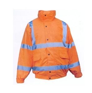 Orange Reflective Safety Coat, Meet En, Factoty in Ningbo, China pictures & photos