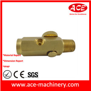 CNC Machining of Pipe Connector pictures & photos