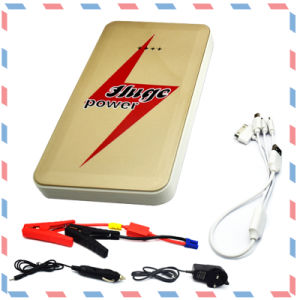 Rechargeable Car Battery jump Starter with Li-Polymer Li-ion LiFePO4Battery pictures & photos