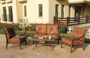 Elegant Loveseat Chat Group Garden Furniture pictures & photos