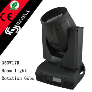 350W 17r Beam Moving Head Club Disco DJ Stage Lighting (HL-350BM)