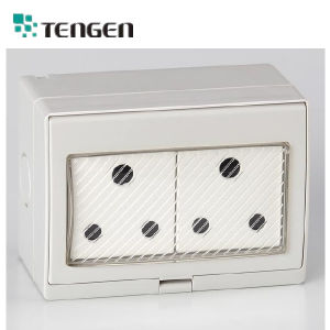 Waterproof Experts Weather Protection Protected Wall Switch and Socket IP55 pictures & photos