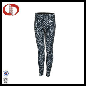 Polyester/ Spandex Compression Women Pants Fitness and Yoga Leggings pictures & photos