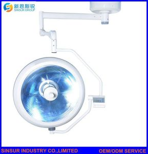 Hospital Medical Equipment Shadowless Halogen Operating Light Comparison pictures & photos