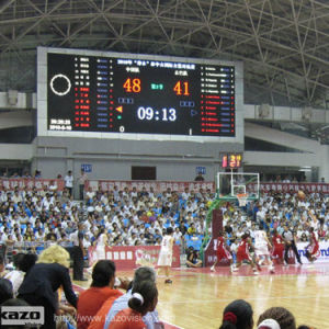 Full Color LED Scoreboard for Indoor Basketball Match pictures & photos