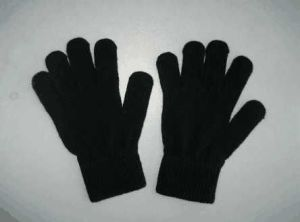 10g Acrylic Black Single Color Fashion Glove-F3107 pictures & photos