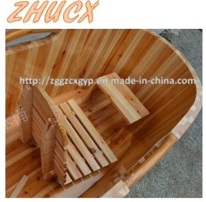 Fashion Style Wooden Bathtub Bodiness Wooden Bathtub High Quality pictures & photos